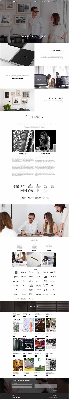 Página estudio web Manuel García Asociados