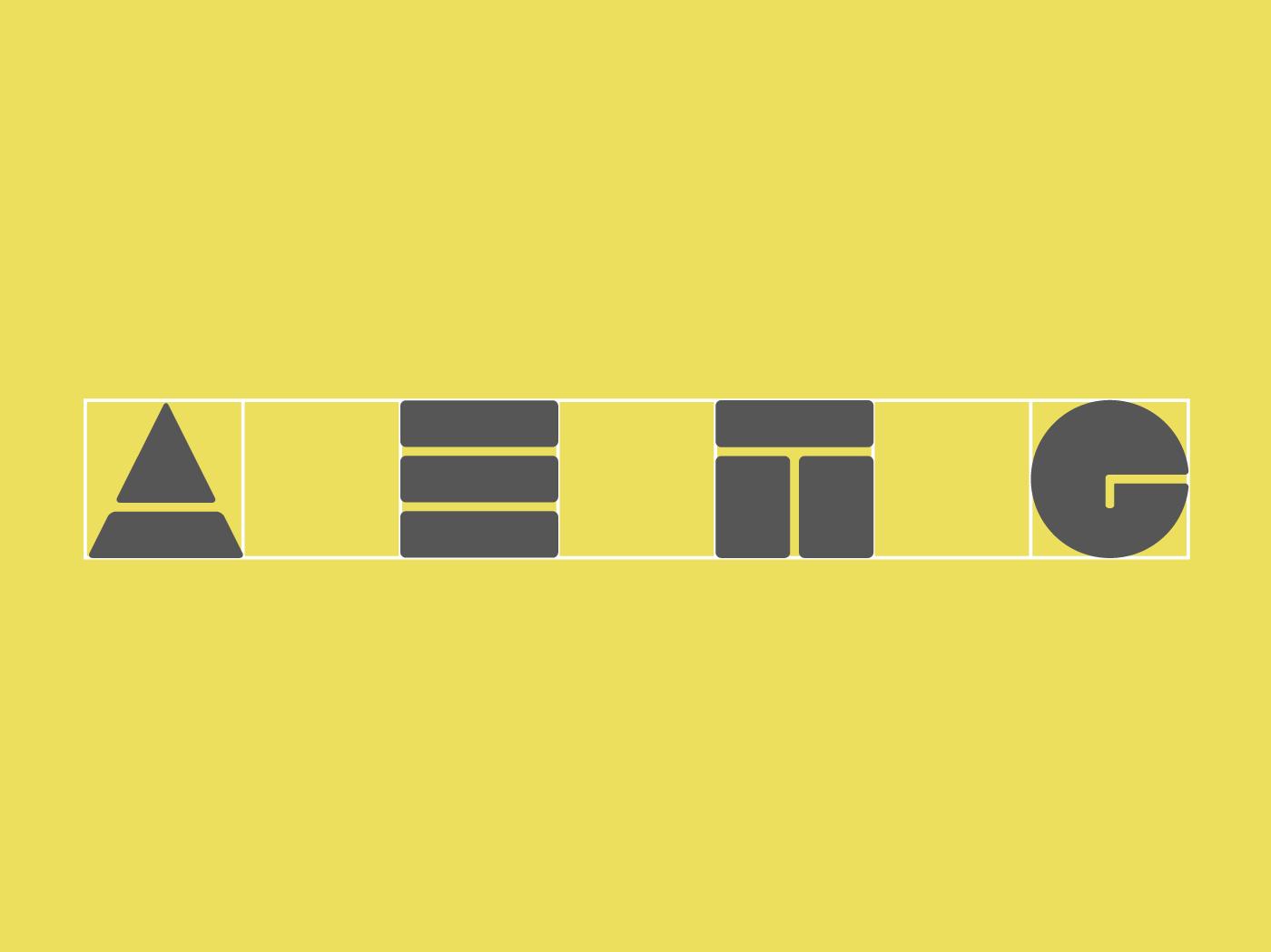 Estructura interna logotipo aetg